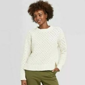 NWT Target Brand a new day Crewneck Sweater-Large
